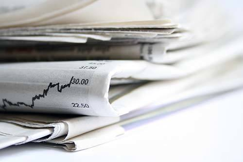 newspaper economic